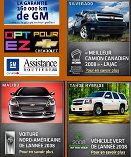 Chevrolet usages a vendre - Buick usages montreal - Le Relais Chevrolet Cadillac Buick GMC